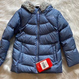 The North Face toddler girl parka coat